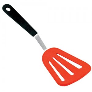 Grill friends offset spatula with silicone blade